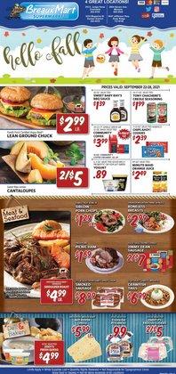 Breaux Mart deals in the Breaux Mart catalog ( Expires today)