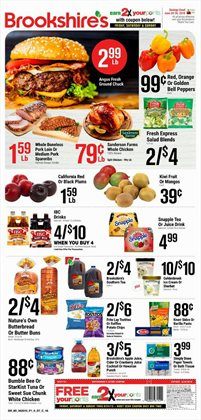 Brookshire's deals in the Granbury TX weekly ad