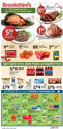 Grocery & Drug deals in the Brookshire's weekly ad in Tyler TX
