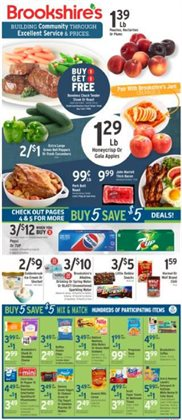 Brookshire's catalogue ( Expires tomorrow )