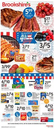 Grocery & Drug offers in the Brookshire's catalogue in Waco TX ( 2 days left )