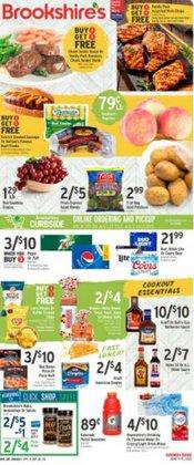 Brookshire's deals in the Brookshire's catalog ( Expires tomorrow)