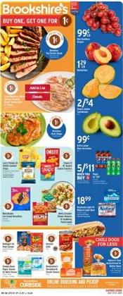 Grocery & Drug deals in the Brookshire's catalog ( Expires tomorrow)