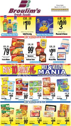 Broulim's deals in the Orem UT weekly ad