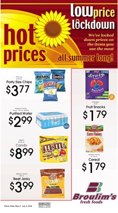 Broulim's deals in the Rigby ID weekly ad