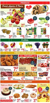 Salad deals in the Strack & Van Til weekly ad in Chicago IL
