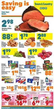 Town & Country deals in the Crown Point IN weekly ad
