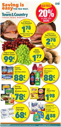 Town & Country deals in the Portage IN weekly ad