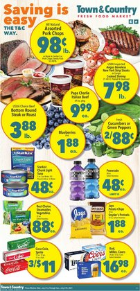 Grocery & Drug deals in the Town & Country catalog ( Expires today)