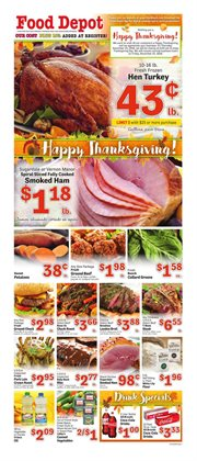 Frozen deals in the Food Depot weekly ad in Stone Mountain GA