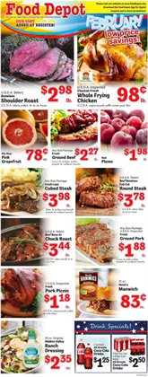 Food Depot deals in the Norcross GA weekly ad