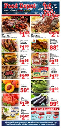 Grocery & Drug offers in the Food Depot catalogue in Newnan GA ( 3 days left )