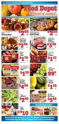 Grocery & Drug offers in the Food Depot catalogue in Atlanta GA ( 2 days ago )
