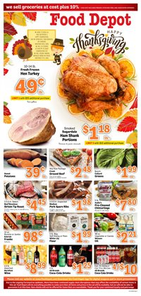 Grocery & Drug offers in the Food Depot catalogue in Jonesboro GA ( 5 days left )