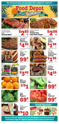 Food Depot deals in the Food Depot catalog ( Published today)