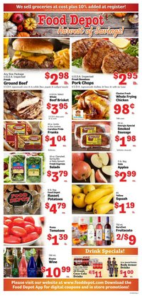 Grocery & Drug deals in the Food Depot catalog ( Expires today)
