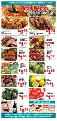Food Depot deals in the Food Depot catalog ( 2 days left)
