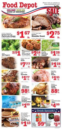 Food Depot deals in the Marietta GA weekly ad