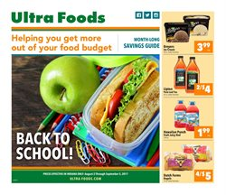 Ultra Foods deals in the Merrillville IN weekly ad