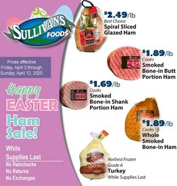 Grocery & Drug offers in the Sullivan's Foods catalogue in Rockford IL ( 1 day ago )