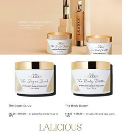 LaLicious deals in the LaLicious catalog ( 21 days left)