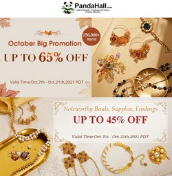 Gifts & Crafts deals in the PandaHall catalog ( 2 days left)