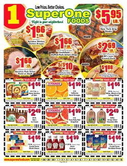 Super One Foods deals in the Duluth MN weekly ad
