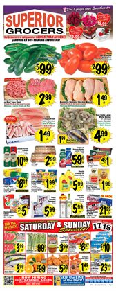 Valentine's Day deals in the Superior Grocers weekly ad in Fontana CA