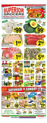 Doors deals in the Superior Grocers weekly ad in Fontana CA