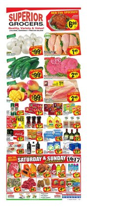Superior Grocers deals in the Fontana CA weekly ad