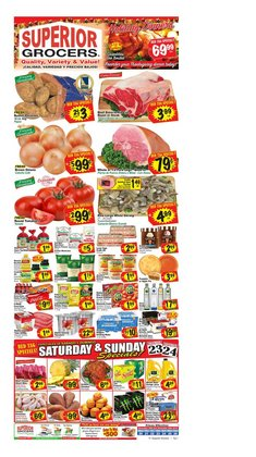 Superior Grocers deals in the Moreno Valley CA weekly ad