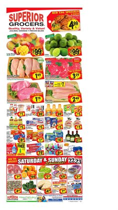Superior Grocers catalogue in Santa Ana CA ( Published today )