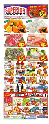 Superior Grocers catalogue ( Published today )
