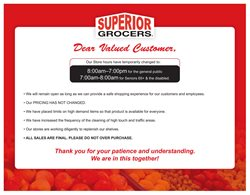 Superior Grocers catalogue ( Expires today )