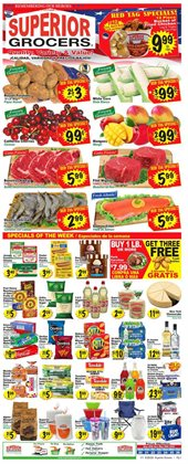 Superior Grocers catalogue in Fontana CA ( Expires tomorrow )