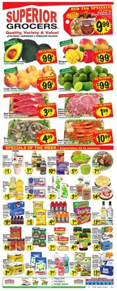 Superior Grocers catalogue in Moreno Valley CA ( Published today )
