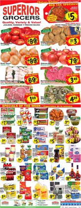 Grocery & Drug offers in the Superior Grocers catalogue in Rancho Cucamonga CA ( 1 day ago )