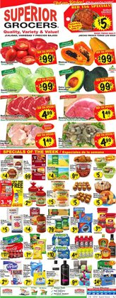 Grocery & Drug offers in the Superior Grocers catalogue in Fontana CA ( 1 day ago )