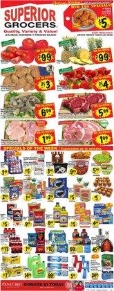 Superior Grocers catalogue ( Expires tomorrow )