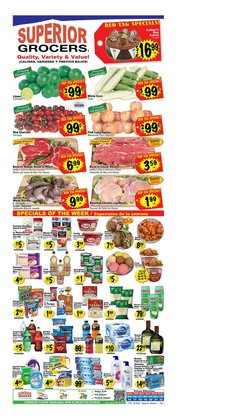 Grocery & Drug deals in the Superior Grocers catalog ( Published today)