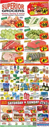 Grocery & Drug deals in the Superior Grocers catalog ( Expires today)