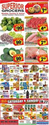 Superior Grocers catalog ( 2 days left)