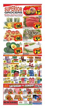 Grocery & Drug deals in the Superior Grocers catalog ( Expires tomorrow)