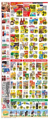 Oil deals in the Superior Grocers weekly ad in Los Angeles CA
