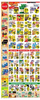 Detergent deals in the Superior Grocers weekly ad in Los Angeles CA