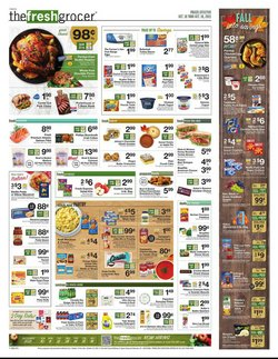 The Fresh Grocer deals in the The Fresh Grocer catalog ( Expires today)