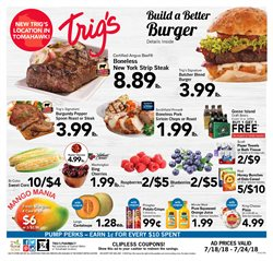 Trig's deals in the Minocqua WI weekly ad