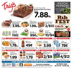 Trig's deals in the Wausau WI weekly ad
