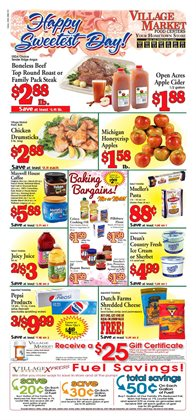 Village Market Food Centers deals in the Allegan MI weekly ad