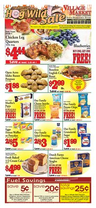 Village Market Food Centers catalogue ( Expires today )
